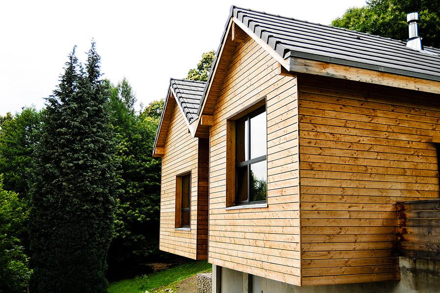 Maison bois Ec(H)ome constructeur en Rhône Alpes